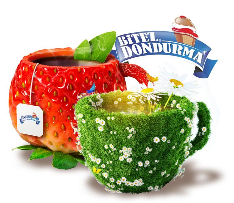 Bodrum Bitez Dondurma için hazırladığımız reklam tasarımları